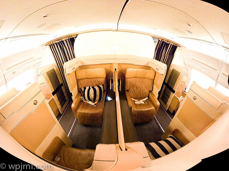 Etihad Airways New York to Abu Dhabi First Class