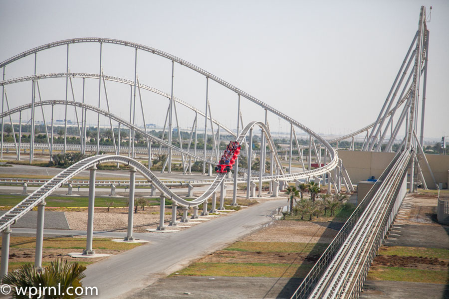 Formula Rossa The Fastest Roller Coaster In The World