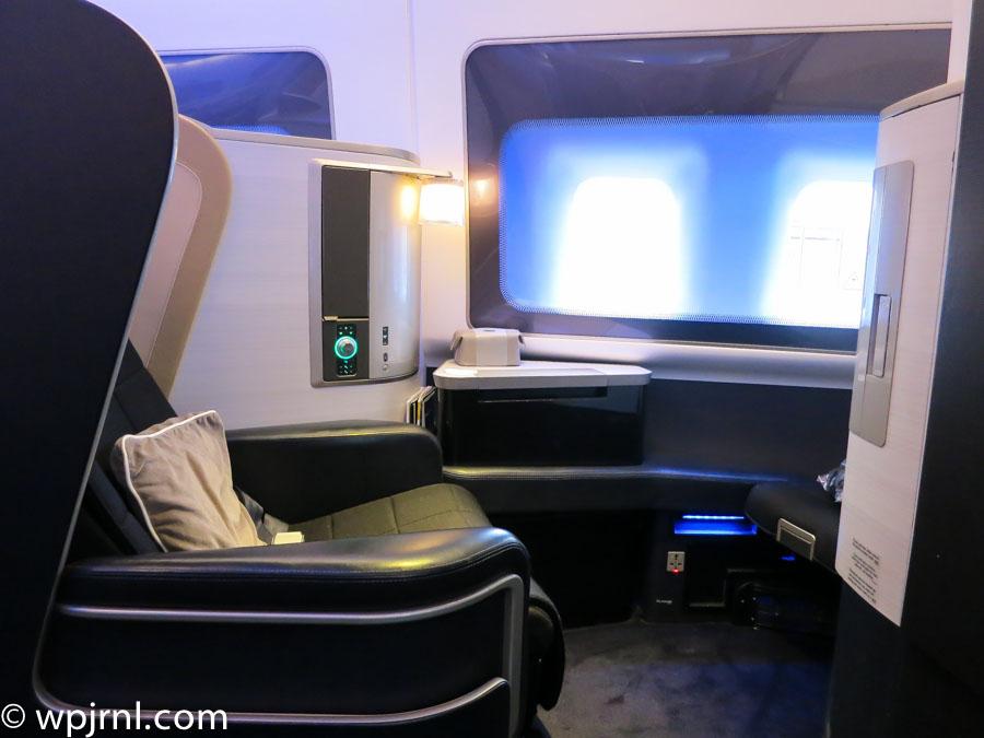New British Airways First Class London To Miami